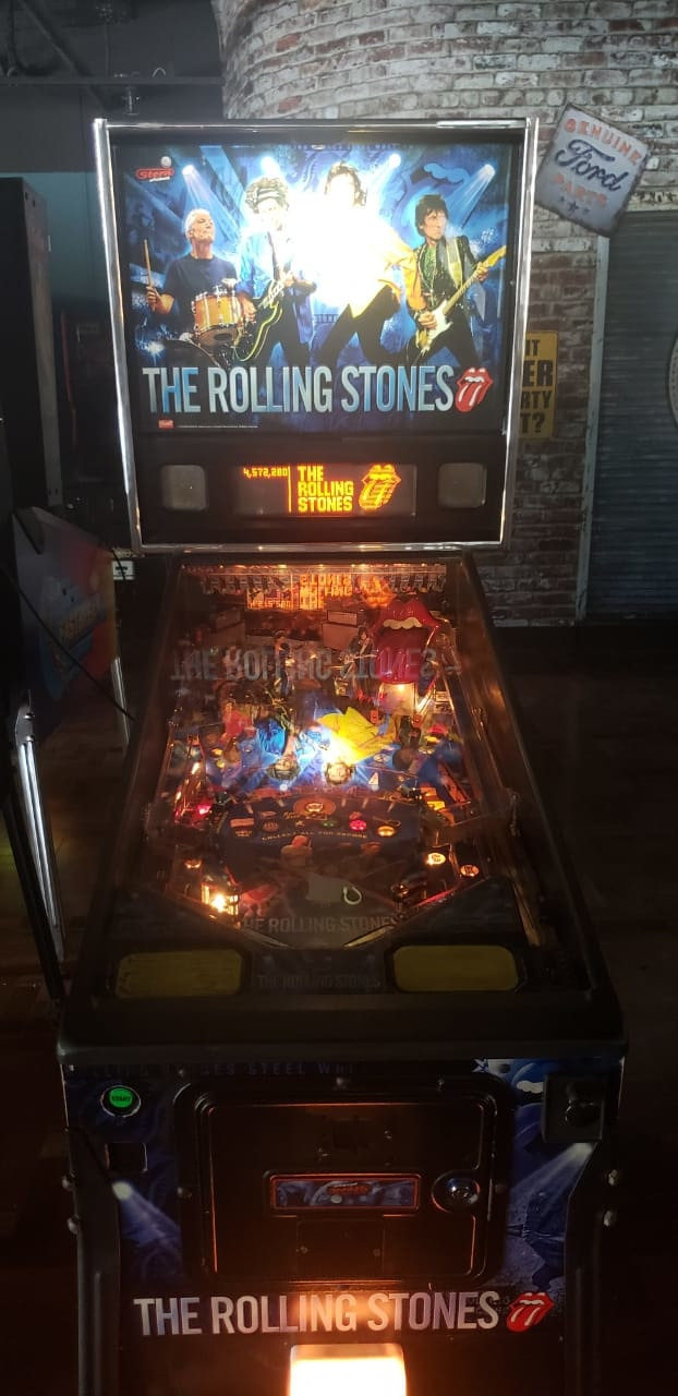 Pinball Rolling Stones